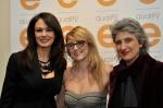 Maria Grazia Cucinotta, Cassandra Raffaele, Paola Concia